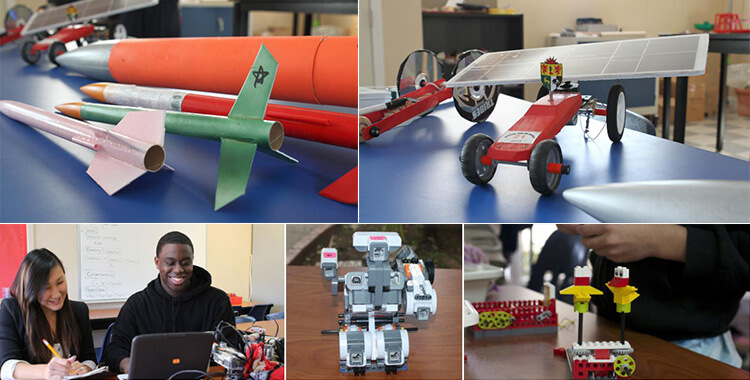 STEM: Rocketry & Robotics at BCS